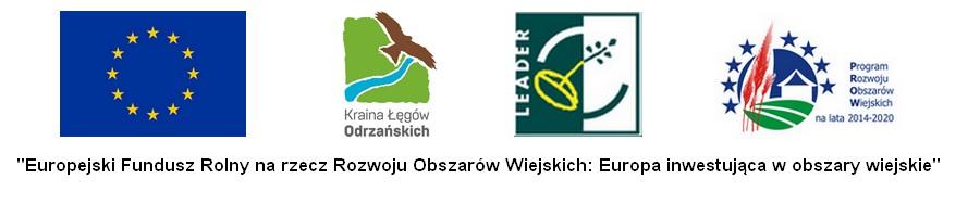 Logotypy Europejski Fundusz Rolny na Rzecz Rozwoju Obszarów Wiejskich